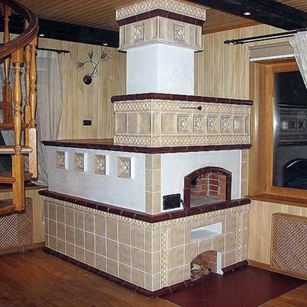 печь-термоаккумулятор