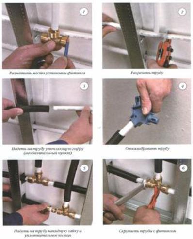 применение металлопластиковых труб