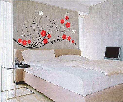 Чем украсить спальню своими руками фото