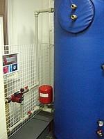 электрический котел с буферной емкостью