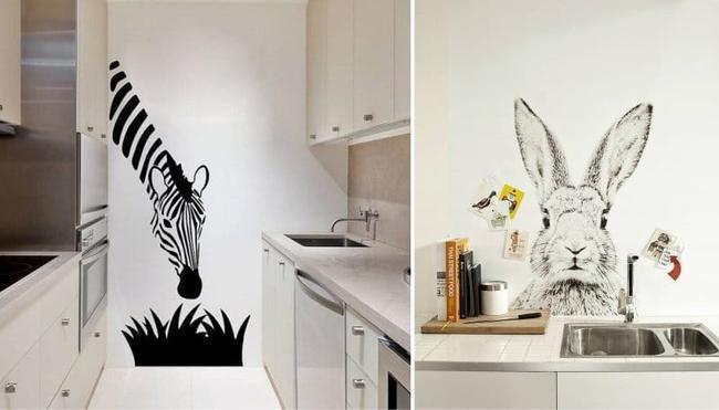 Рисунки на стенах кухни своими руками фото 12